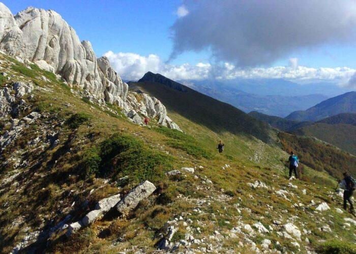 viaggi organizzati per escursioni in trekking sui monti sibillini