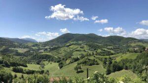 viaggio nelle marche per un Bike Tour dall'Adriatico ai Sibillini