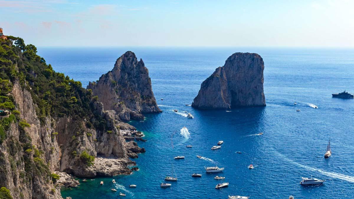 Costiera Amalfitana Sorrento Capri