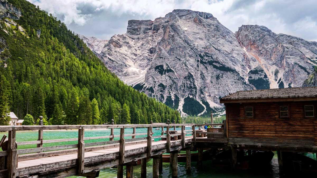 Lago di braies e Vajont