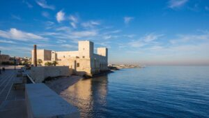 Le bianche cittadine: Trani Matera Alberobello