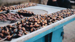 vacanza organizzata in pullman a Montemonaco ad ottobre per degustare le deliziose castagne