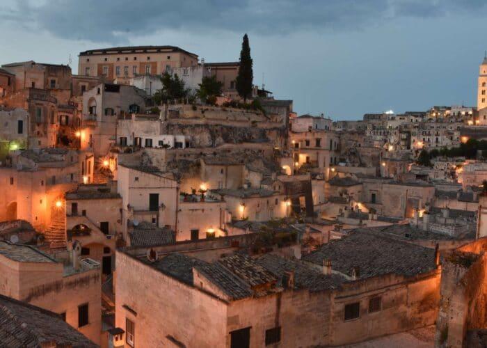 Viaggio organizzato Matera di Notte Capilta Europea della Cultura
