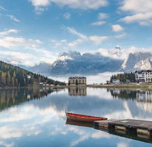 Lago di Misurina Dolomiti